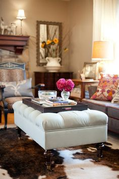 Ottomans Design Ideas, Pictures, Remodel, and Decor - page 40