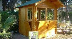 cabañas de madera para kiosko - Buscar con Google Style At Home, Cabin, House Styles, Google, Home Decor, Wood Cabins, Business, Decoration Home, Room Decor