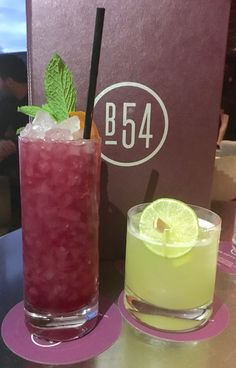 At Bar 54 Brighton Beets cocktail (a play on Brighton Beach) ($26) with fresh weekly made beet infused vodka, gin, lemon, Cointreau, ruby port and mint  served over crushed ice with orange twist. For a drink with a subtle kick, I suggest the Santana Sour ($26) made with tequila blanco, lime juice, jalapeños, pineapple and cilantro; my  favorite.