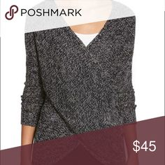 RD Style wrap sweater RD Style wrap sweater. Color: black twist. Sweaters
