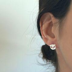 Le chouchou de ma boutique https://www.etsy.com/ca-fr/listing/504430006/boucles-doreilles-panda-bijoux-panda