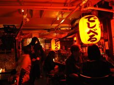 Decibel Sake Bar in the East Village.  Underground sake heaven.  You feel like you're in the middle of Tokyo.