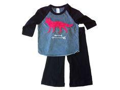 Items similar to little COYOTE tee and karate pant set! on Etsy Karate Pants, Gun, Sewing, Trending Outfits, Tees, Fabric, Baby, Fashion, Tejido