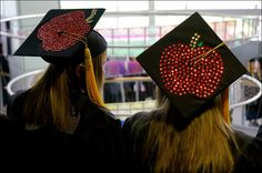 education Decorated Grad Caps | Owens Community College graduates over 800 students during Spring ...