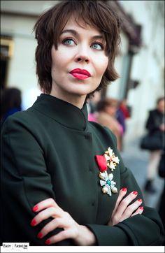 Easy Fashion: Ulyana Sergeenko at Dior - Paris Fashion Week