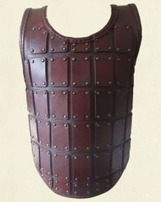 Torso Plated Armour – red brown