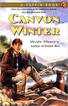 Canyon Winter by Walt Morey  hjp