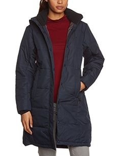 Jack wolfskin damen mantel iceguard coat black