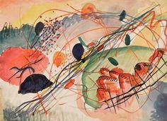 Wassily Kandinsky, Aquarell 6, Kunstdrucke auf japanpapier - Wassily Kandinsky - Wikipedia, the free encyclopedia