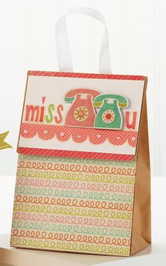 Miss You Gift Bag by @Teri Anderson
