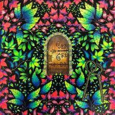 Gate - Magic Forest Source by Adult Coloring Book Pages, Coloring Book Art, Colouring Pages, Johanna Basford Secret Garden, Zen Colors, Colored Pencil Tutorial, Secret Garden Coloring Book, Johanna Basford Coloring Book, Magic Forest