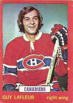 Nhl Players, Team Player, Montreal Canadiens, Hockey Cards, Baseball Cards, Hockey Hall Of Fame, Pro Hockey, Single Player, Right Wing