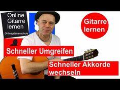 Onlinegitarrenschule: Schnelle Griffwechsel Akkordwechsel Gitarre lernen...