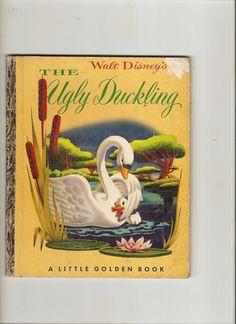 Vintage Little Golden Book, The Ugly Duckling.