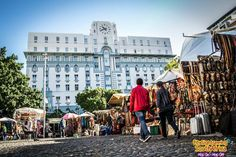 Grab a friend or three, put on your brightly coloured sneakers and uncover the city on our free guided Historic City… Cape Town, South Africa, Louvre, Walking, Street View, History, City, Building, Travel