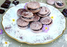 Macarons choco-coco vegan | Le blog de Lady Pastelle