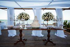 Decoração da mesa de doces de casamento no campo - Ana Paula Aguiar Fotografia