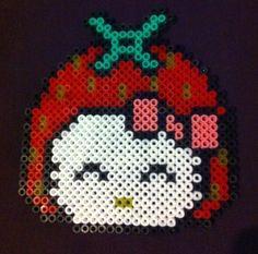 Hello Kitty hama beads by Arthystik