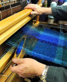 The Process ......the #connection #MadeInKilkenny #Ireland #weaving #Blankets #textiles #wool #ButlerHouse  #vibrant #Design #irish #woolenmills #Cushendale