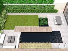 Facade Design, Exterior Design, Modern Courtyard, Modern Farmhouse Exterior, Swimming Pools Backyard, Rooftop Garden, Garden Landscape Design, Yard Design, Outdoor Furniture Sets