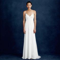 simple Jcrew wedding dress for the wedding dresses under $500 roundup