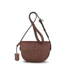 Loewe - bolso heritage satchel 22 bronceado - Bolsos Mujer