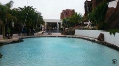 Lanzarote - Lagomar. Das ehemalige Haus von Omar Sharif (Er hatte es für einen Tag)