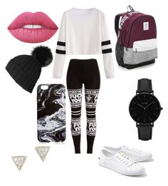 A fashion look from December 2016 featuring long sleeve stripe shirt, wide-waistband leggings and white leather sneakers. Browse and shop related looks. Lime Crime, Lacoste, Victoria's Secret, Shoe Bag, Polyvore, Stuff To Buy, Shopping, Shoes, Collection