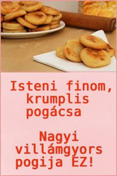Hungarian Recipes, Cooking Recipes, Healthy Recipes, Sweet And Salty, Other Recipes, Yummy Snacks, Food To Make, Bakery, Food Porn