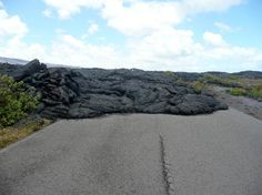 Chain of Craters Road--Volcanoes National Park, the big Island, Hawaii