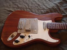 Another Coodercaster with a Supro lap steel pickup | Harmony Central