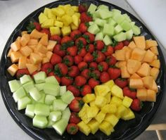 vegetable+tray+ideas | Fruit Tray