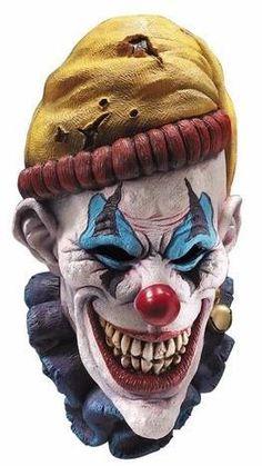Insano The Clown Latex Creepy Head Halloween Scary Mask Costume Horror Theater Clown Scare, Evil Clown Mask, Gruseliger Clown, Joker Clown, Clown Faces, Creepy Clown, Evil Clowns, Scary Mask, Insane Clown