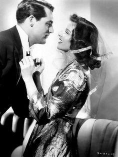 Cary Grant & Katharine Hepburn in The Philadelphia Story