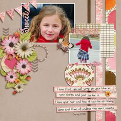 SWEET_web Kit: Cottage No. 2 kit by Etc by Danyale http://the-lilypad.com/cottage-no2-kit.html Template: BYOC Love Out Loud Dressed up Templates by Fiddle Dee Dee Designs
