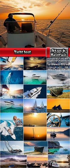 Download Yacht boat powerboat sailing boat sea ocean vacation tourism Trips 25 HQ Jpeg Free