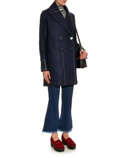 Stitch-detail wool and alpaca-blend coat | Edun | MATCHESFASHION.COM UK