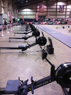 Operation Vader - Black Concept 2 Rowers, yes we did!