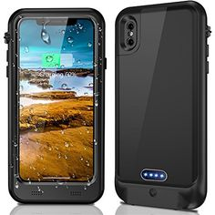 8 best iphone x (iphone 10) cases and covers images iphone 10iphone x waterproof battery case with qi wireless charging best offer