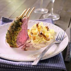 Recette de Carré d'agneau aux morilles par Francine. Découvrez notre recette de Carré d'agneau aux morilles, et toutes nos autres recettes de cuisine faciles : pizza, quiche, tarte, crêpes, Agneau, ...