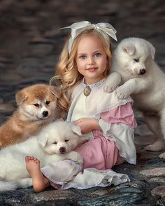How cute is this? Cute Outfits For Kids, Cute Kids, Cute Babies, Animals For Kids, Baby Animals, Cute Animals, Little Girl Photography, Children Photography, Precious Children