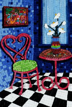 Fifth Avenue - Mosaic Art - DY Mosaics by mosaic art source, via Flickr