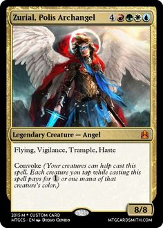 Alternate Commander for Polis Defenders EDH Deck.
