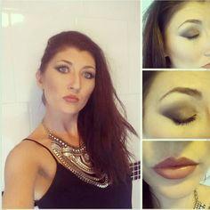 Date night make up using the #urbandecay #naked2palette & #Mac #isabelandrubentoledo #lipstick in #oxblood #freelance #makeupartist