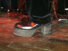 Worn by a band member in a San Francisco concert in 2010.  Wow!  (Joe Cruz photo).