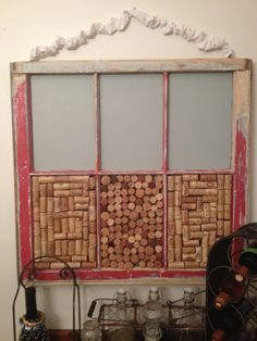 Weekend project repurposed old window