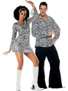Funky 70's Couples Costumes