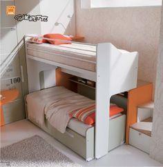Letto A Castello Scorrevole Moretti.Letto A Castello Scorrevole Genius Girl Bedroom Designs Kids