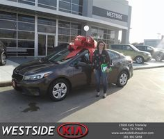 Westside Kia Customer Review  Marlon was great, answered all the questions went above and beyond to take care of mu needa to get me into my new Kia.   Rocsann, https://deliverymaxx.com/DealerReviews.aspx?DealerCode=WSJL&ReviewId=57016  #Review #DeliveryMAXX #WestsideKia