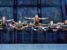 Photo 1 of 8 | The touring cast of Disney's Newsies. Photo by Deen Van Meer | Newsies: National Tour Show Photos | Broadway in Orlando
